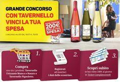Concorso Tavernello Vinci 200€ in Buoni Spesa