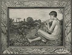 Hans Thoma - Abend, 1897.