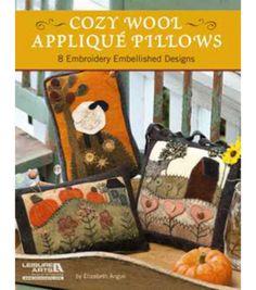 Leisure Arts-Cozy Wool Applique PillowsLeisure Arts-Cozy Wool Applique Pillows,