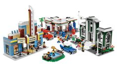 Lego 50th Anniversary special release 10184 Town Plan