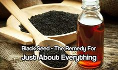 Black Seed - The remedy For Just About Everything - Black seed is also known as…