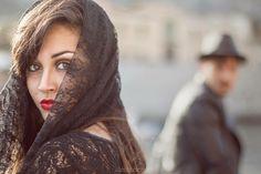 Shooting sicilian girl