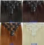 Clip-In Hair Extensions - Straight 170 Grams of Hair 8 Pcs, 23""
