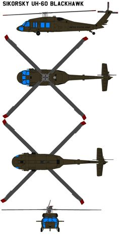 Sikorsky UH-60 BlackHawk by bagera3005