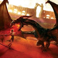 Dance of dragons. Beautifully portrayed.