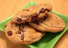 I finally found a fantastic high altitude cookie recipe!  These don't flatten at all!