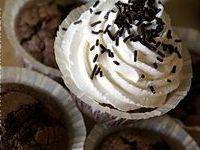 Cupcakes chocolat noir