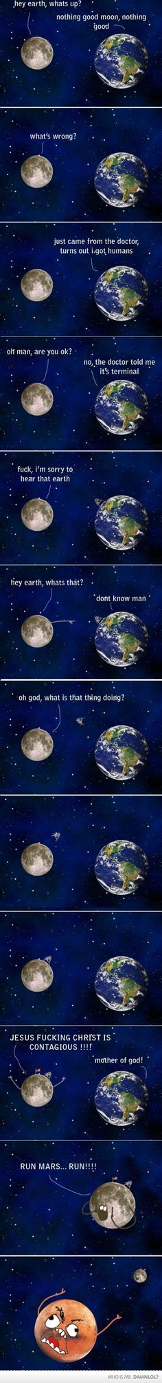 earth and the moon talk