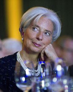 Christine Lagarde Photo - Obama Speaks At ASNE Convention
