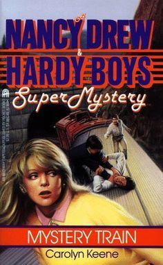 $0.01  Mystery Train (Nancy Drew & Hardy Boys Super Mysteries #8) by Carolyn Keene, http://www.amazon.com/dp/0671674641/ref=cm_sw_r_pi_dp_slxQqb089AWWB