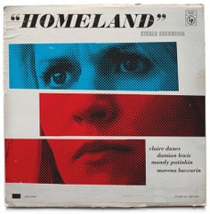 Homeland-Inspired Vintage Record Covers by Ty Mattson
