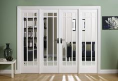 LPD Manhattan Room Divider W6 Solid White Primed Internal Door