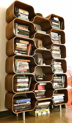 Hive Shelving Unit (double stack) | Chris Ferebee, 1999/2002 | photo: l. parkin