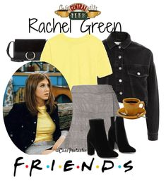 Discover outfit ideas for Friends Anniversary made with the shoplook outfit maker. How to wear ideas for checked mini skirt and JAPAN EXCLUSIVE Cotton Boxy Tv Show Outfits, Teen Girl Outfits, Retro Outfits, Vintage Outfits, Cool Outfits, Casual Outfits, Fashion Outfits, Estilo Rachel Green, Rachel Green Style