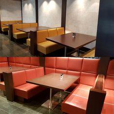 Herstofferen banken WTC Schiphol www.visionfurniture.nl de restylers Een tweede leven voor uw meubilair
