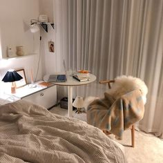 Room Design Bedroom, Bedroom Layouts, Room Ideas Bedroom, Bedroom Decor, House Funny, Cool Dorm Rooms, Pretty Room, Aesthetic Room Decor, Minimalist Home