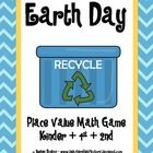 Looking for a fun center or afternoon activity that not only covers those key math standards, but also fits with your Earth Day theme?  This FREE p...