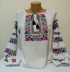 Hey, I found this really awesome Etsy listing at https://www.etsy.com/listing/560990765/embroidered-blouse-flowered-embroidery