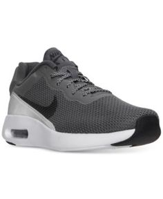 Men'S Air Max Modern Essential Se Running Sneakers From Finish Line, Dk  Grey/Dk Grey-Reflect S. Finish LineNike ShoesShoes ...