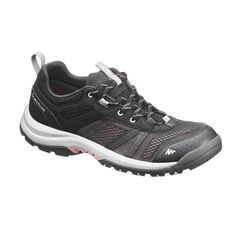 67465d5d917 Chaussure de randonnée nature NH500 Fresh noir femme QUECHUA