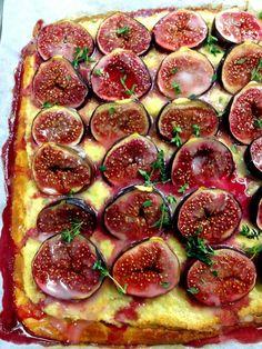 His photos always look amazing because the food itself looks amazing!Beautiful fig tart