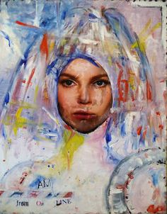 "Saatchi Art Artist MP XQS-I; Collage, ""Pop art collage + painting"" #art"