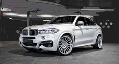 Just a few weeks after release of the BMW the Hamann reveals the Anniversary Evo wheels for the same model. Bmw X6, Audi Q3, Audi Cars, Bmw X Series, Sporty Suv, Nissan, Buick Envision, Audi Allroad, Best Suv