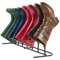 Andrew James Support de Rangement pour 4 Paires de Bottes Adultes - Idéal pour des Bottes d'hiver Bottes d'Équitation et Bottes de Pluie: Amazon.fr: Cuisine & Maison