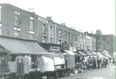 The Market in Choumert Road Peckham South East London England Vintage London, Old London, South London, New South, Old Pictures, Old Photos, London History, Street Photo, The Good Old Days