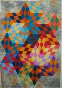 1000 Images About Optical Illusion Quilts On Pinterest