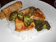 Tofu with Garlic and Broccoli: Meatless Monday