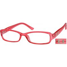 eafb121264 Pink Rectangle Glasses  265118