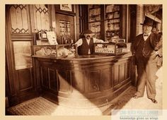 Cigar Store, Long Beach, 1902. For information about copyright and ordering images from the LBPL Digital Archive, see http://www.lbpl.org/history.