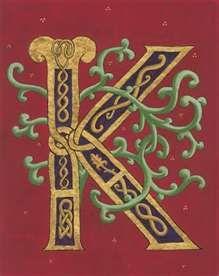 Image Search Results for celtic letter k designs