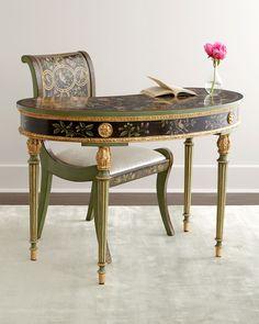 Medowlark Writing Desk & Chair - Horchow