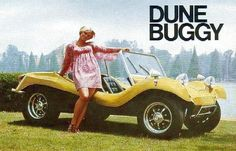 OLDE EUROPEAN AUTO ADS & PRODUCT MODELS - 50'S, 60'S & 70'S - DUNE BUGGY