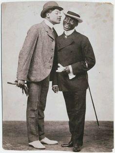 Bert Williams and George Walker the original Kings of Comedy.