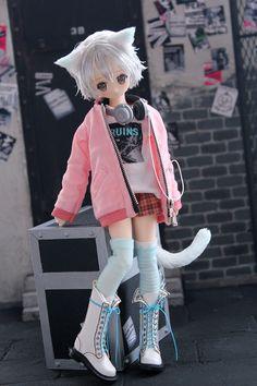 Tieo in Another dream – Victorian Circus Anime Dolls, Bjd Dolls, Polymer Clay Kawaii, Korean Anime, Kawaii Doll, Doll Painting, Smart Doll, Custom Dolls, Ball Jointed Dolls