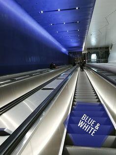 Color of The Week: blue&white by @detaljee. #suomi100 #länsimetro