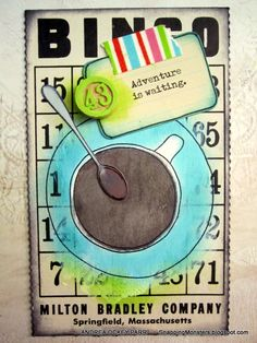 Tutorials: Stamping on Bingo Cards