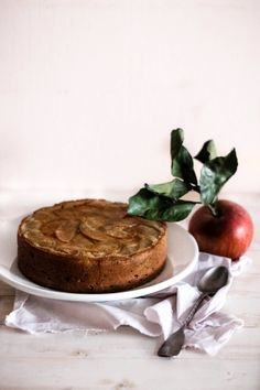 Mela e Cannella: Upside-down apple cake from @Marcello Arena
