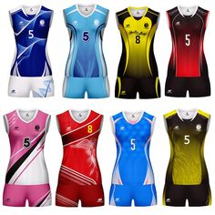 2019 New Custom Volleyball Uniform For Men Women Camisetas Damas Voleibol Volleyball Suit Sportswear For Volleyball - Outdoor You Should Know Volleyball Uniforms, Jersey Uniform, Football Love, Uniform Design, Sports Shirts, Fashion Dolls, Sportswear, Graphic Tees, Suits