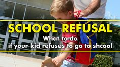 Parenting Tips | School Refusal - Here's What You Can do if your Kid Refuses to Go to School   #parenting #tips #hacks #parentingtips #parentinghacks #school #refusal #anxiety #schoolrefusal #schoolrefusalanxiety