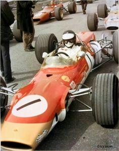 Jim Clark Lotus 48 FVA F2  Hockenheim 1968 April 7