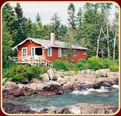 Our favorite summer retreat....Sugar Beach Resort at Tofte, MN on our little ocean--Lake Superior!