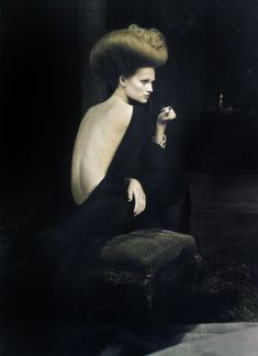 """A dream of a dress"". Toni Garrn by Paolo Roversi"
