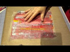 Deli Paper & Alcohol Ink: An Unlikely Pairing by Joggles.com - YouTube