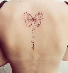 Back tattoos of a woman; Little prince tattoos; Back tattoos tattoo pattern 24 BACK TATTOOS FOR WOMEN Ribbon Tattoos, Mini Tattoos, Cute Tattoos, Beautiful Tattoos, Flower Tattoos, Body Art Tattoos, Small Tattoos, Cross Tattoos, Butterfly On Flower Tattoo