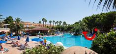 Princesa Playa (aparthotel) - Cala 'n Bosch - Spanje Cala N Bosch, Outdoor Decor, Calla Lilies, Beach