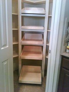 ShelfGenie Glide-Out Shelves - traditional - kitchen - houston - by ShelfGenie of Greater Houston